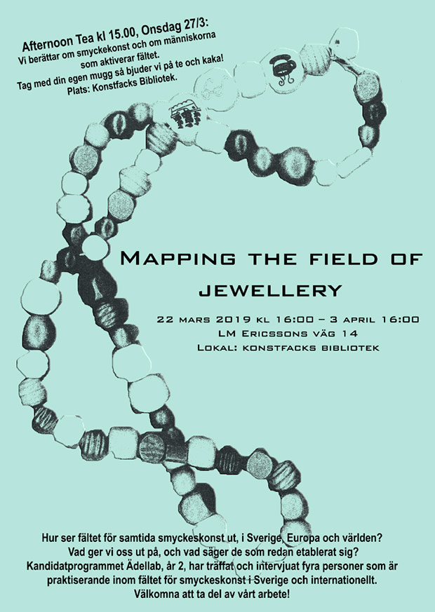 Mapping the field of jewellery